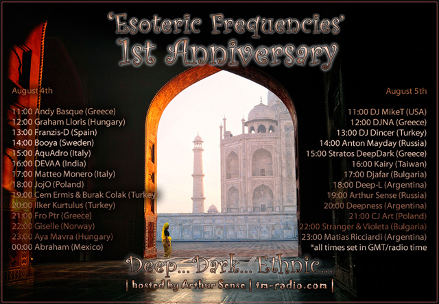 Dark Progressive: Esoteric Frequencies 2 years anniversary