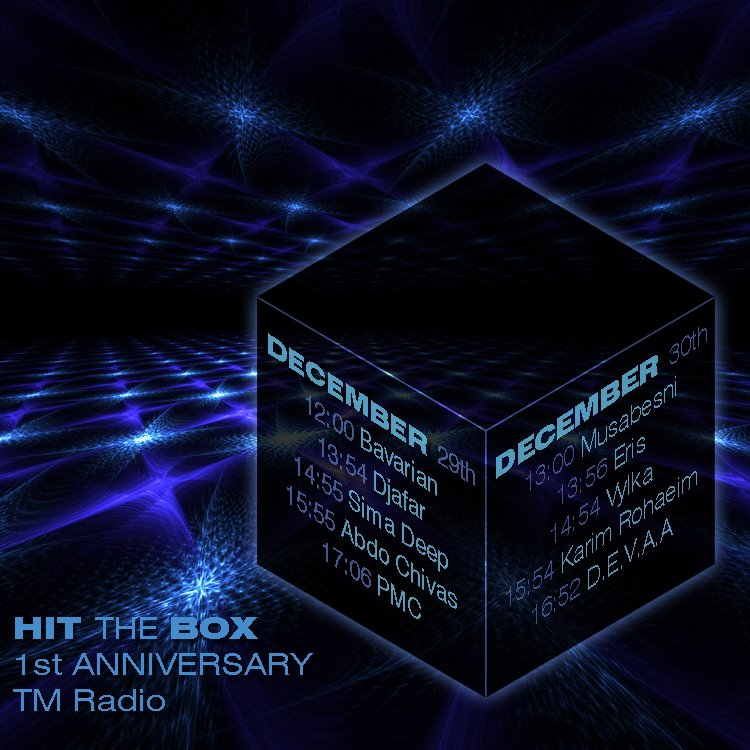 hit the box new year celebration