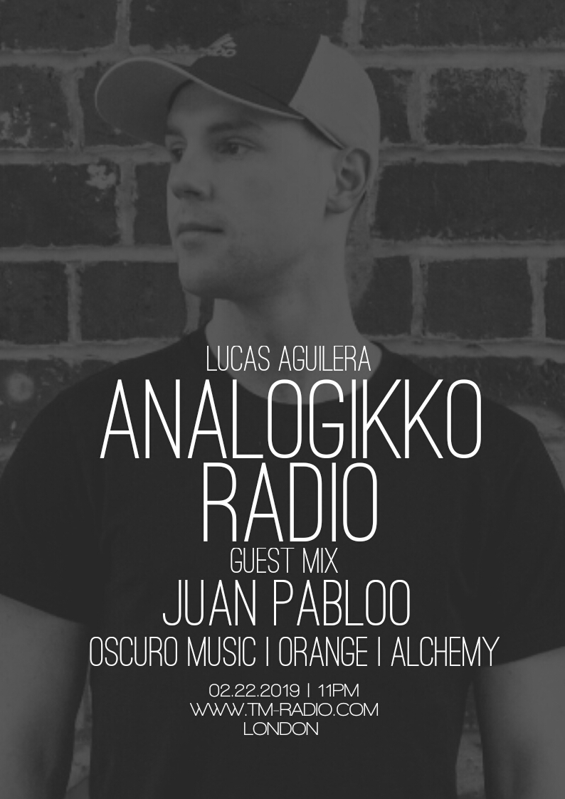 ANALOGIKKO RADIO BY LUCAS AGUILERA - JUAN PABLOO - GUEST MIX - TM RADIO - Episode 050 (from February 22nd)