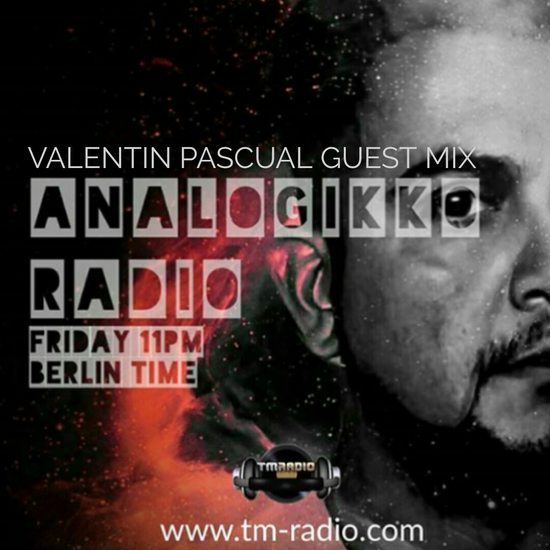 Analogikko Radio :: ANALOGIKKO RADIO BY LUCAS AGUILERA - VALENTIN PASCUAL GUEST MIX - TM RADIO - Episode 017 (aired on July 6th, 2018) banner logo