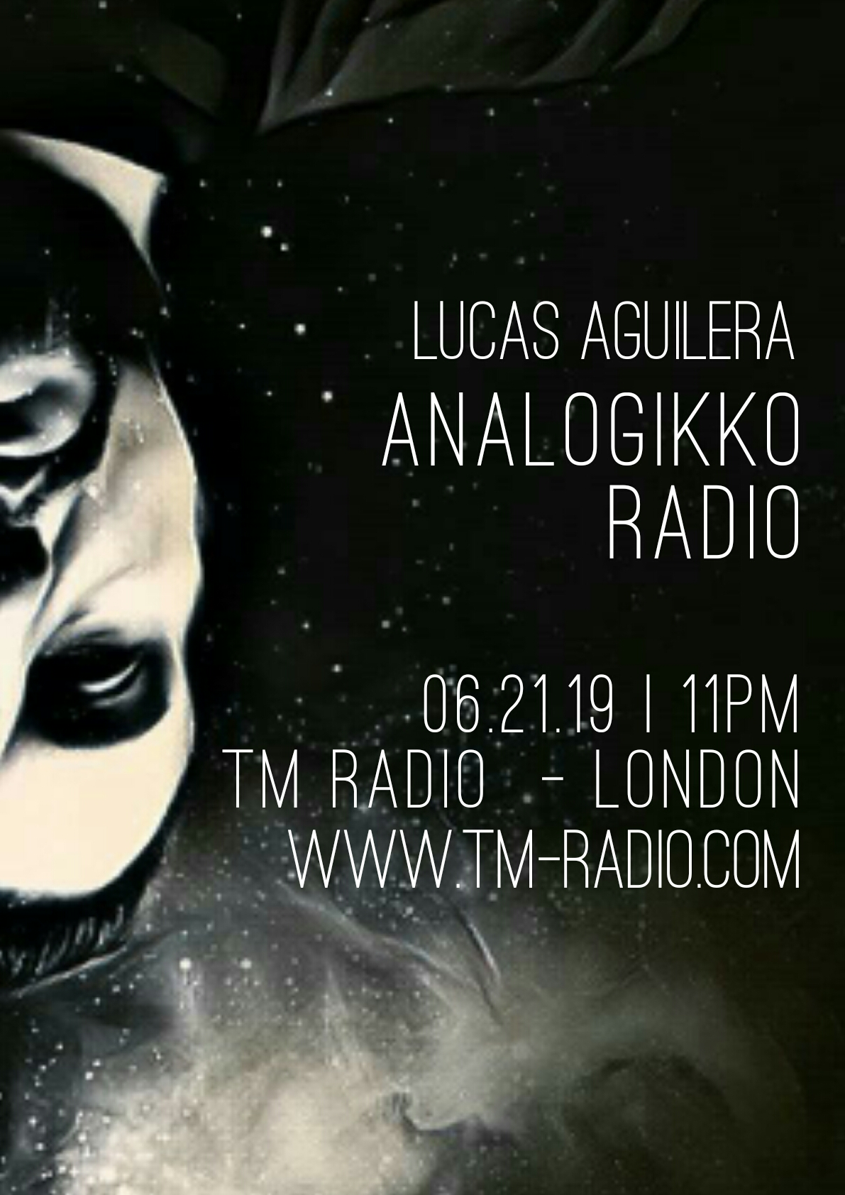 Analogikko Radio :: ANALOGIKKO RADIO BY LUCAS AGUILERA - TM RADIO - Episode 067 (aired on June 21st, 2019) banner logo