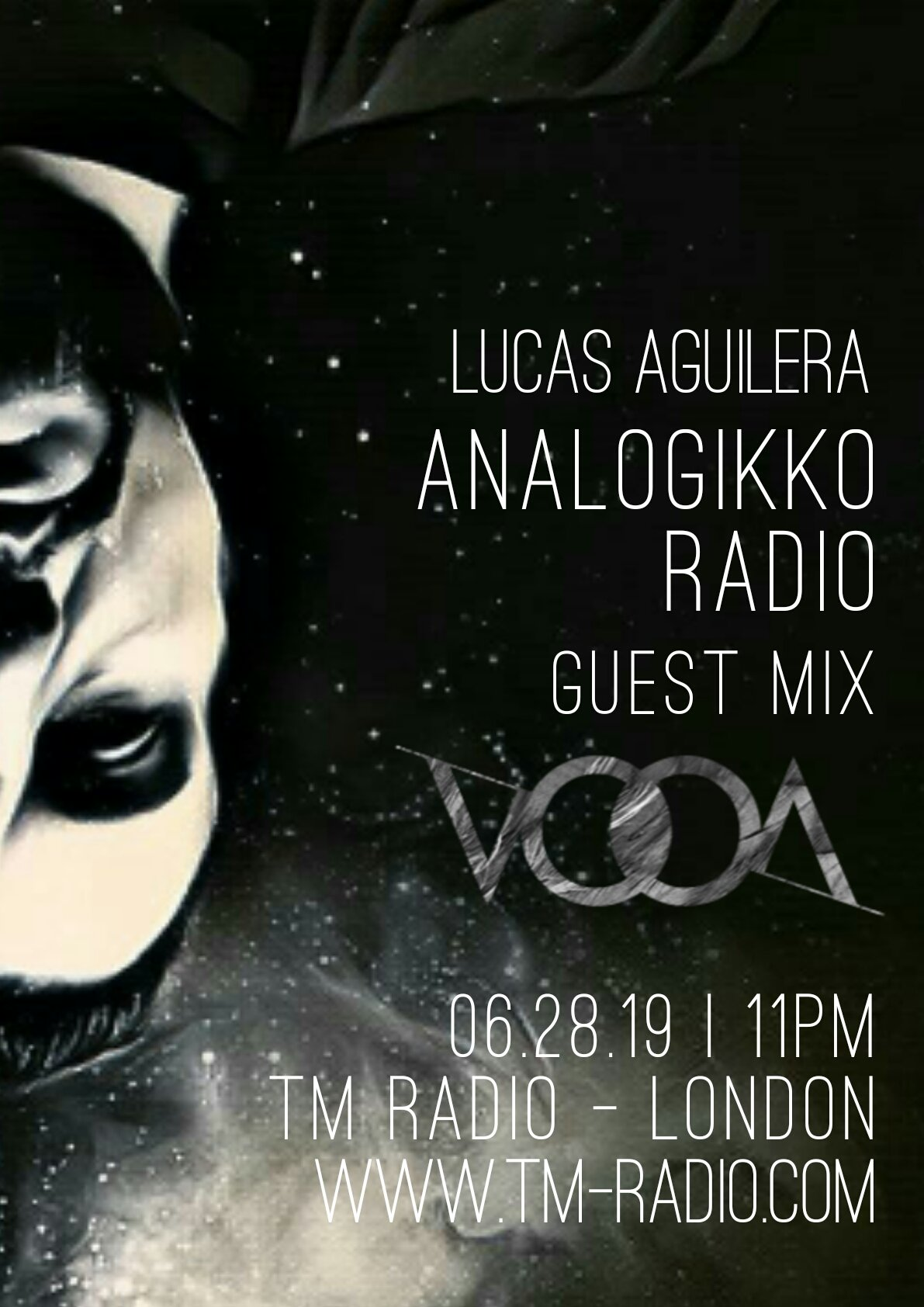 ANALOGIKKO RADIO BY LUCAS AGUILERA - VOOA - GUEST MIX - TM RADIO - Episode 068 (from June 28th, 2019)