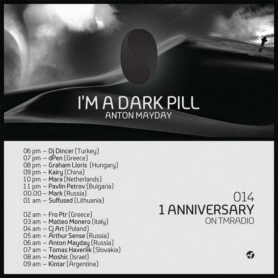 Anton Mayday - I'm a Dark Pill :: Episode aired on January 30, 2015, 6pm banner logo