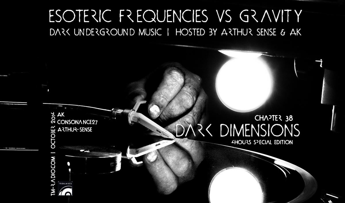 Esoteric Frequencies :: Dark Dimensions (aired on October 31st, 2014) banner logo