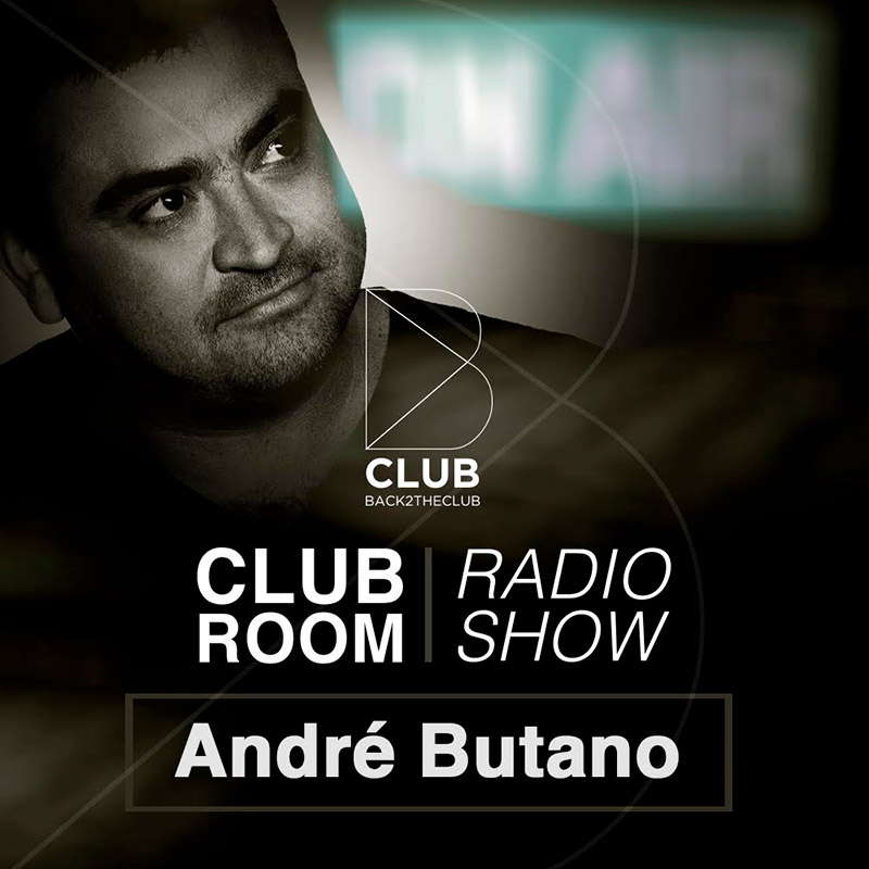 Back2TheClub :: Episode 008, hosted by Andre Butano (aired on July 16th, 2018) banner logo