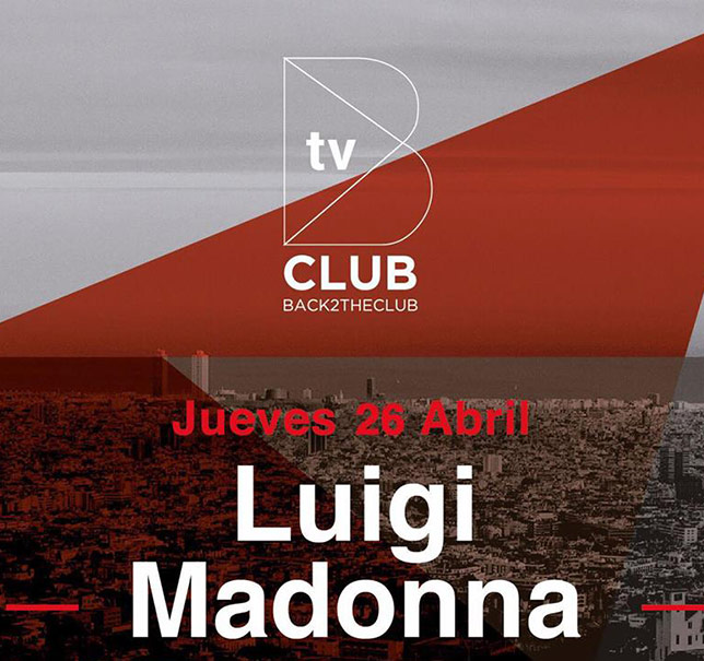 Back2TheClub :: Episode 001, Grand Opening on TM Radio, hosted by Luigi Madonna (aired on May 28th, 2018) banner logo