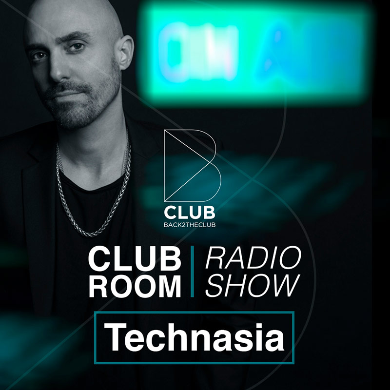 Back2TheClub :: Episode 002, hosted by Technasia (aired on June 4th) banner logo