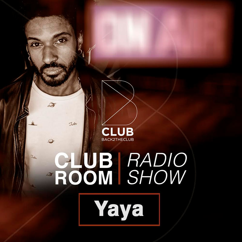 Back2TheClub :: Episode 009, hosted by Yaya (aired on July 23rd, 2018) banner logo