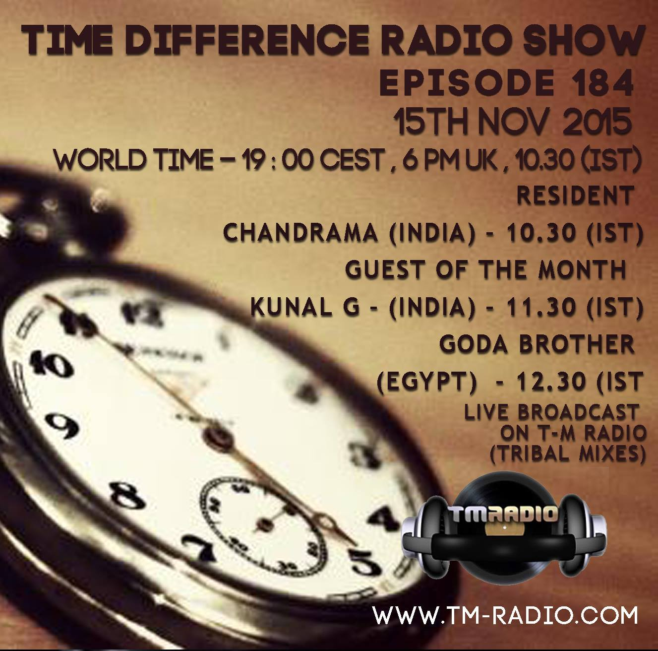 Time Differences :: Episode aired on November 15, 2015, 6pm banner logo