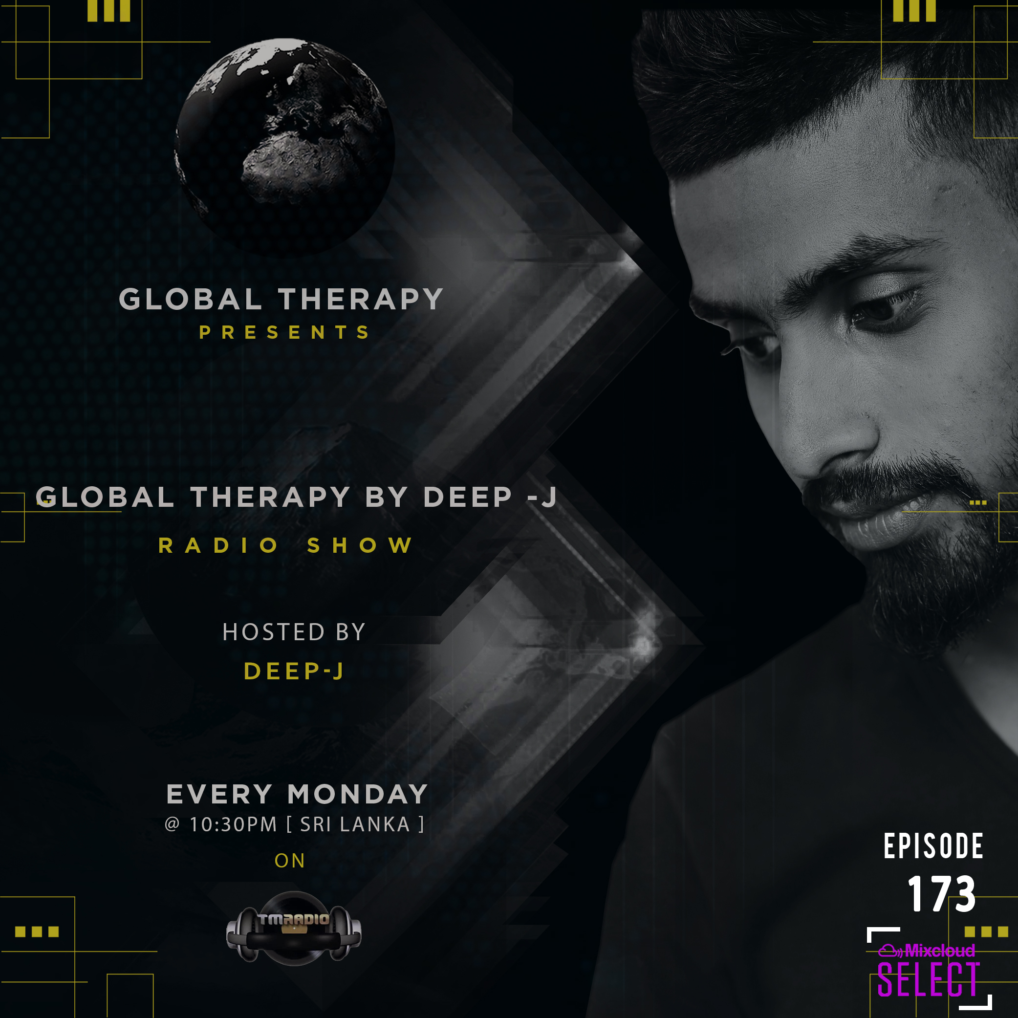 Global Therapy :: Global Therapy by DEEP-J  Episode 173 (aired on February 3rd) banner logo