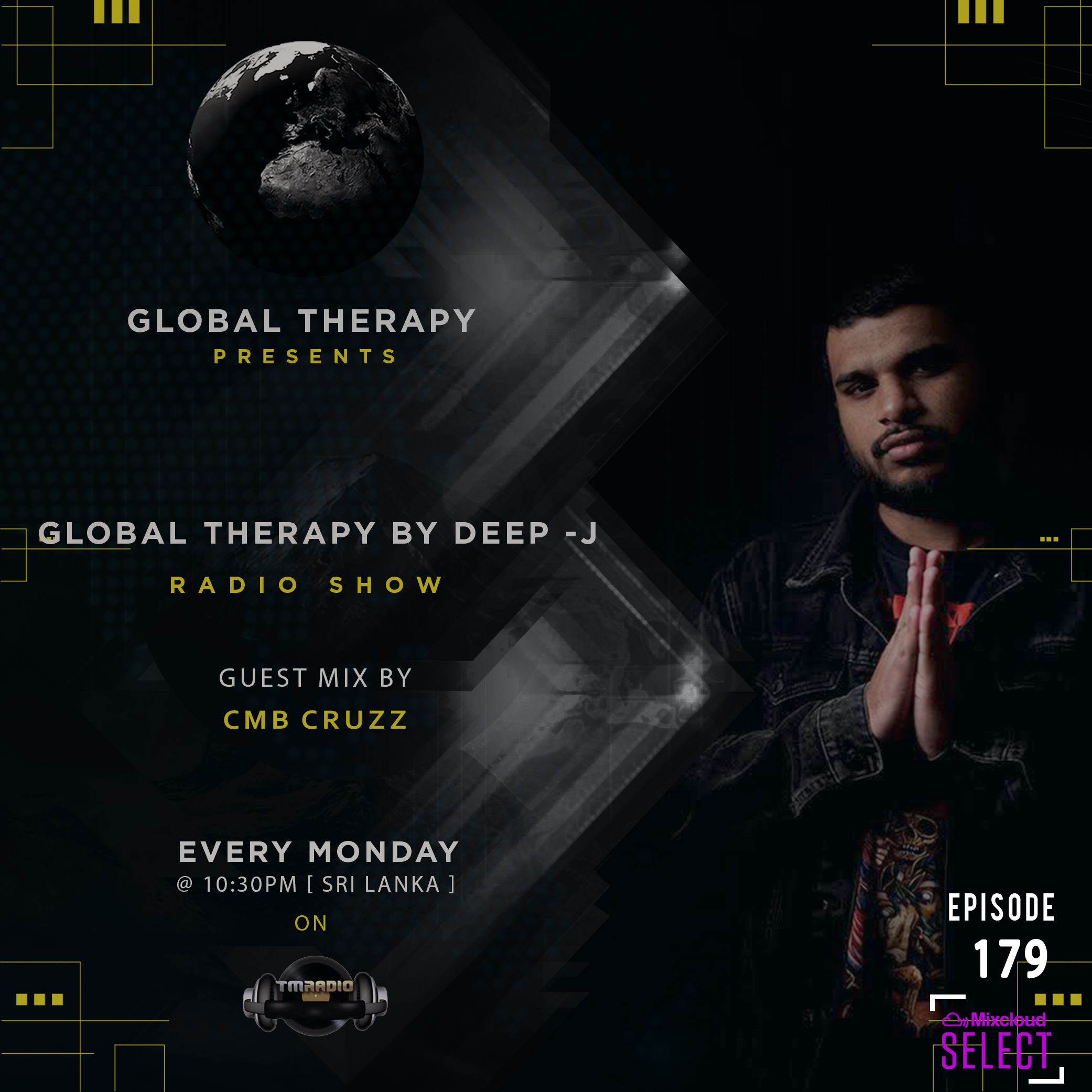 Global Therapy :: Global  Therapy  Episode  179 +Guest Mix by Cmb CruzZ (aired on March 16th, 2020) banner logo