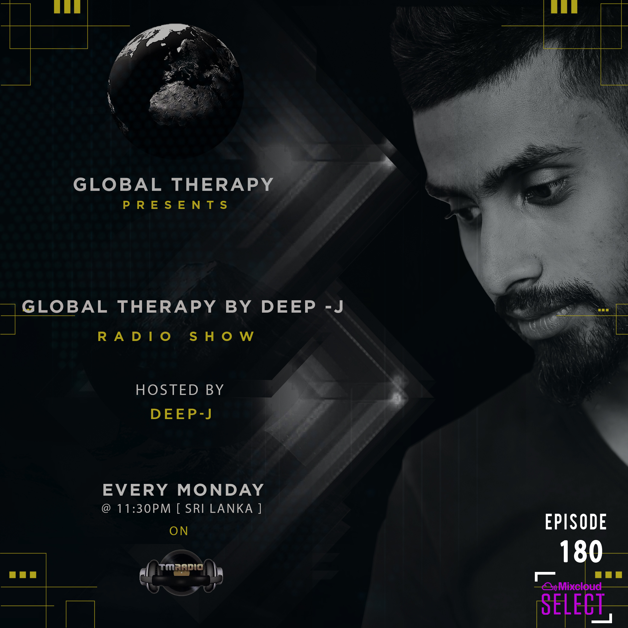Global Therapy :: Global Therapy Episode 180 (aired on March 23rd) banner logo