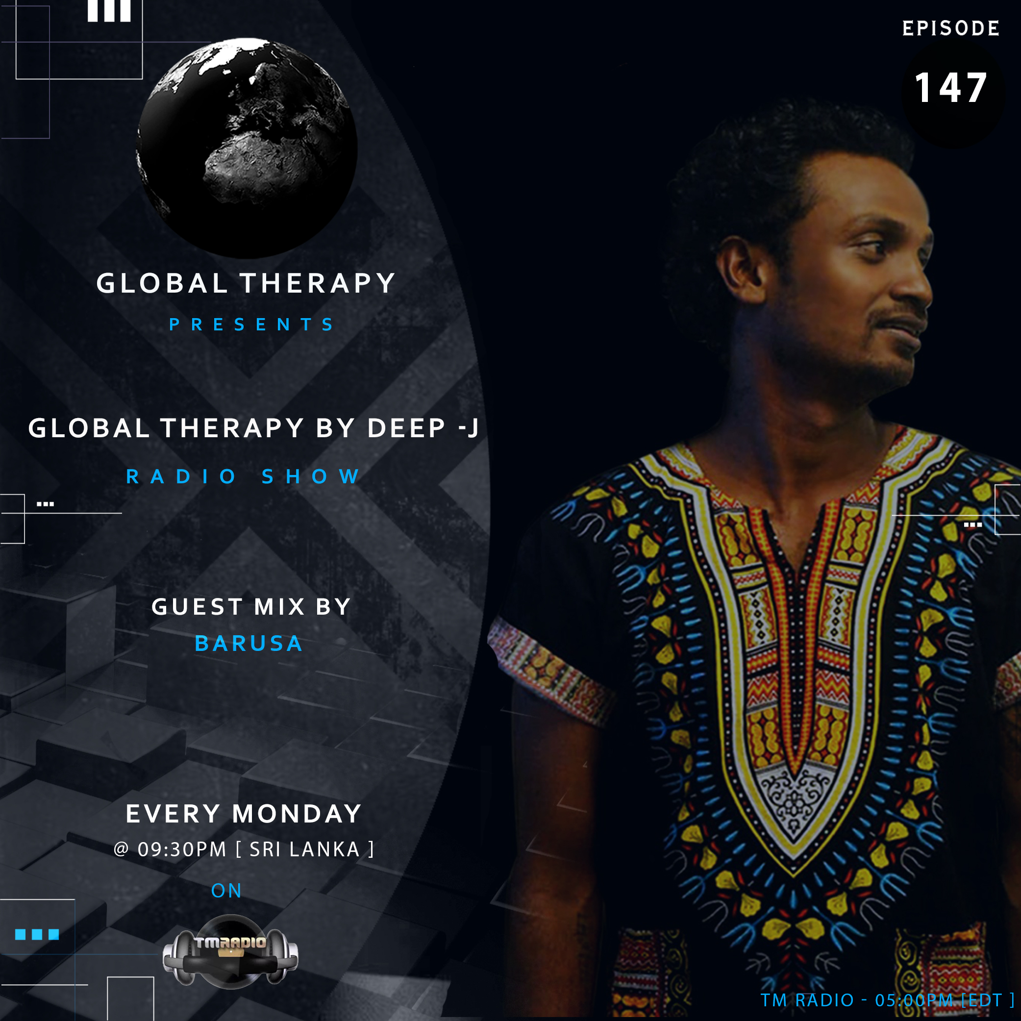 Global Therapy :: Global Therapy + Guest Mix Barusa [ EP:147 ] (aired on July 29th, 2019) banner logo