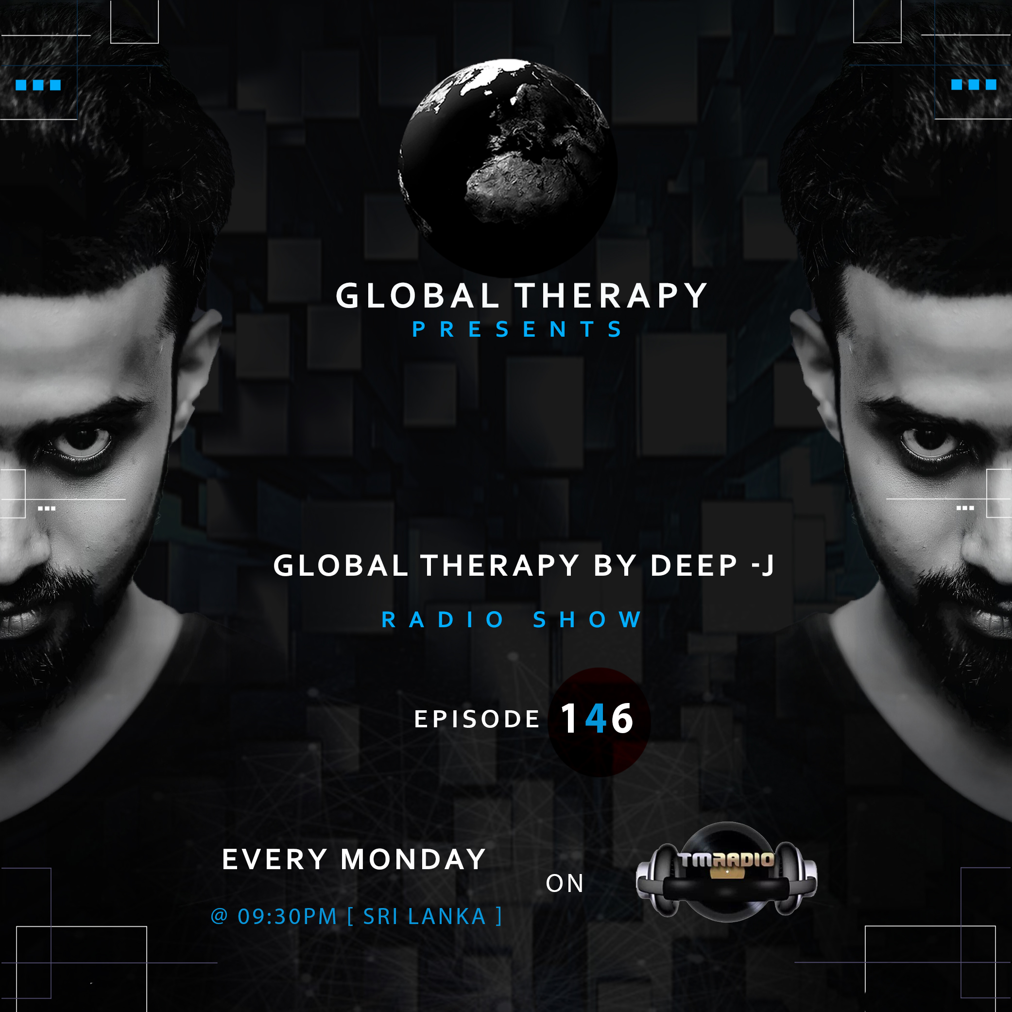 Global Therapy :: Global Therapy By DEEP-J : [ EP 146 ] (aired on July 22nd, 2019) banner logo
