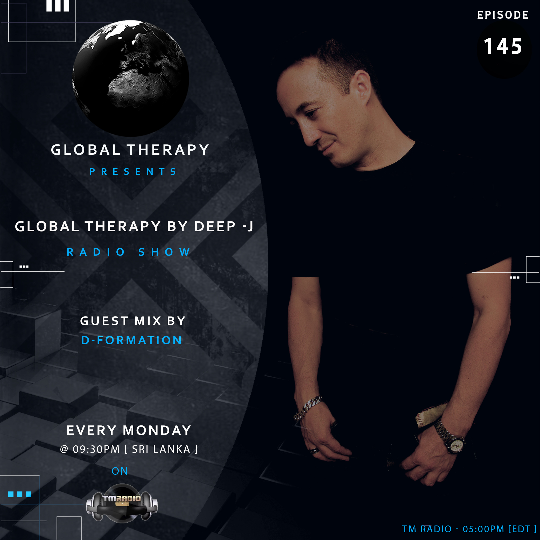 Global Therapy :: Global Therapy EP:145 + Guest Mix By D-FORMATION (aired on July 15th, 2019) banner logo