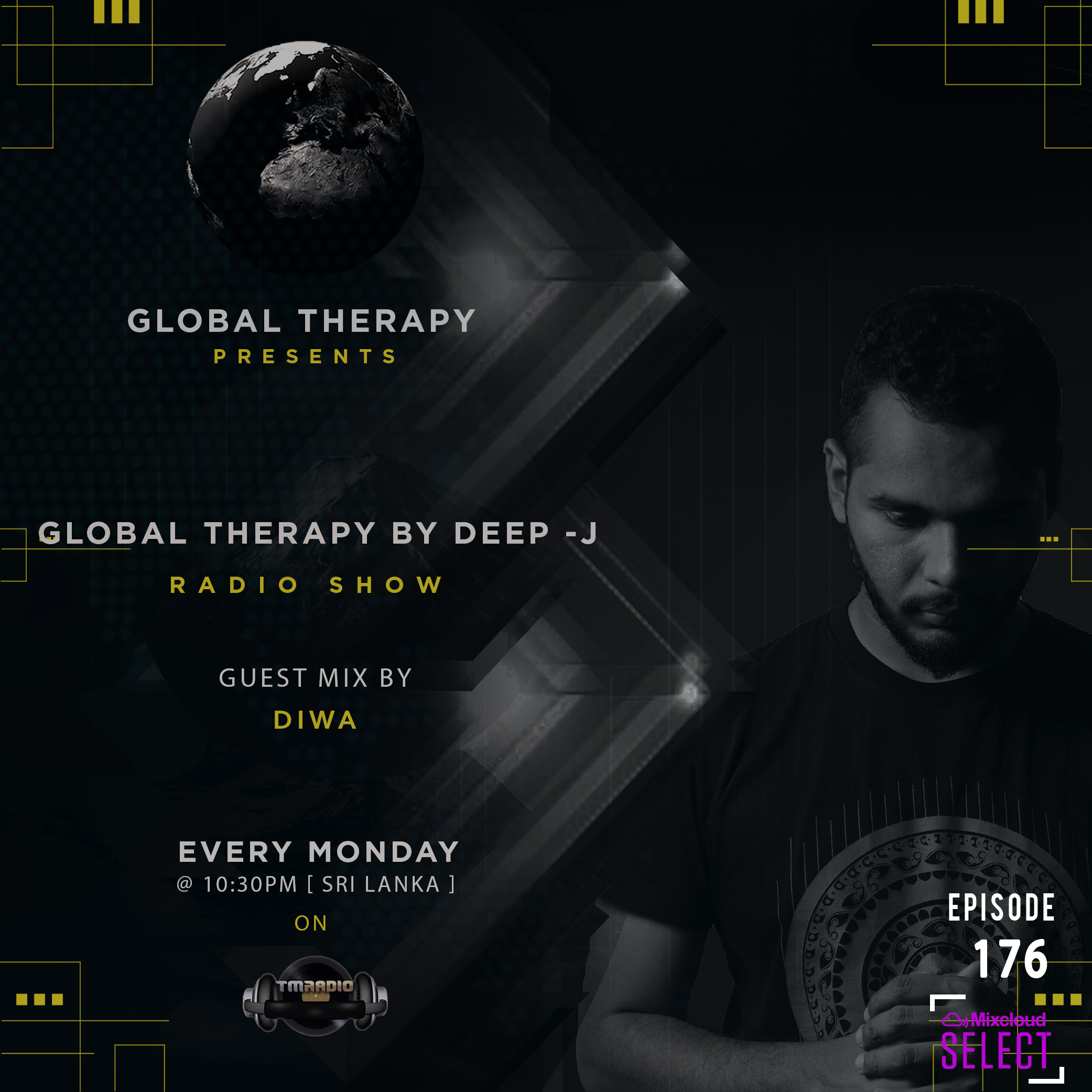 Global Therapy :: Global Therapy Episode 176 + Guest Mix by DIWA (aired on February 24th, 2020) banner logo