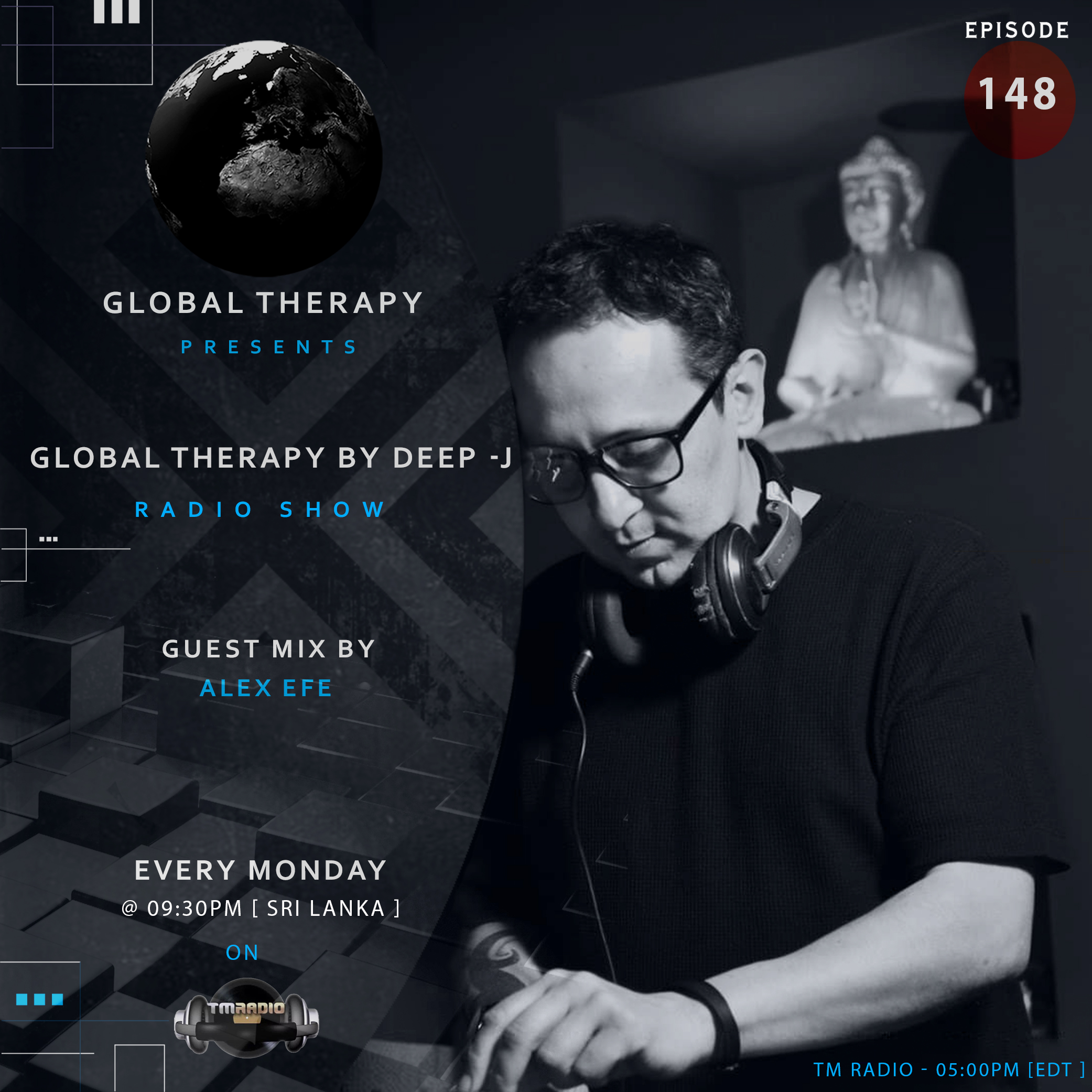 Global Therapy :: Global Therapy + Guest Mix ALEX EFE [ EP:148 ] (aired on August 5th) banner logo