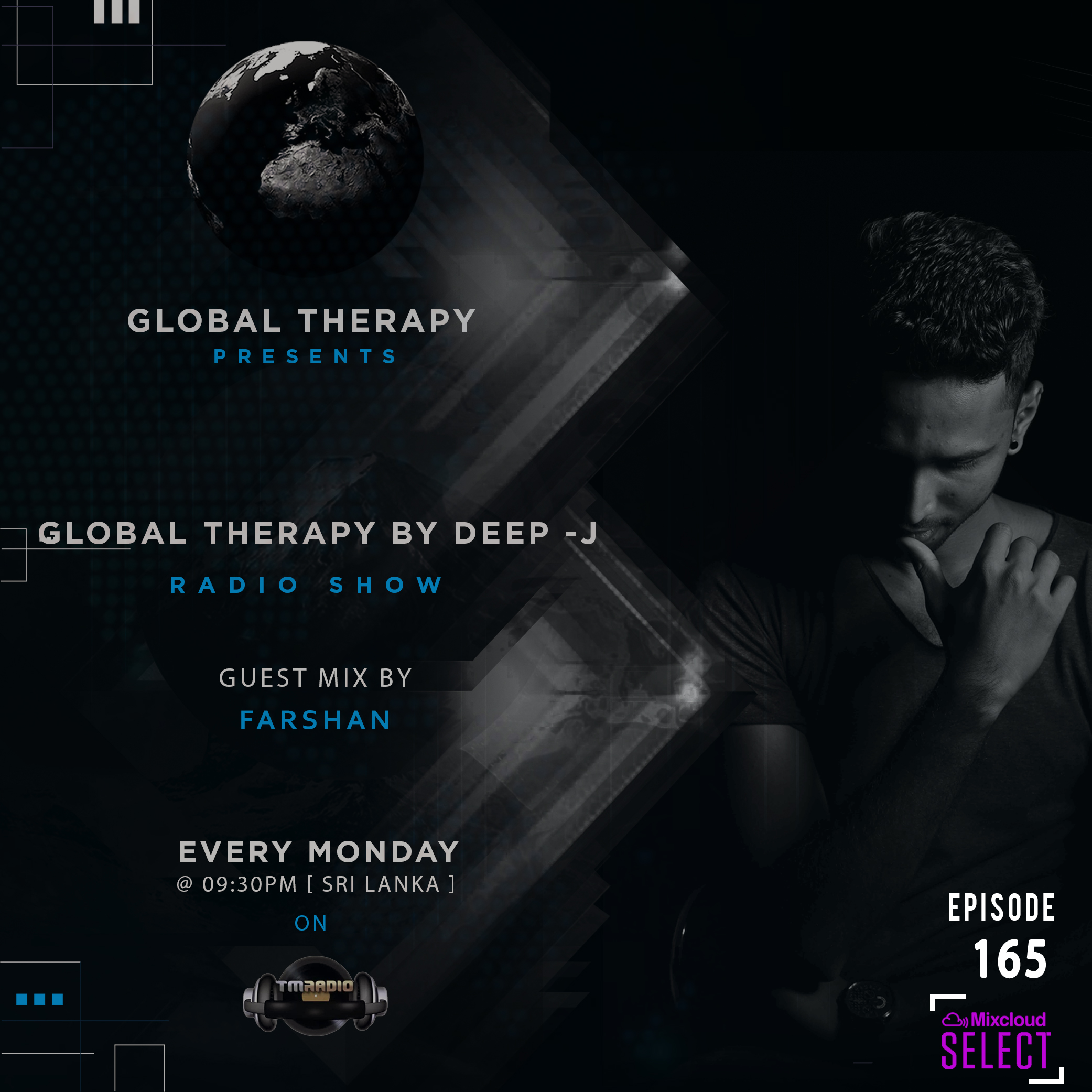 Global Therapy :: Global Therapy Episode 165 + Guest Mix By FARSHAN (aired on December 9th, 2019) banner logo