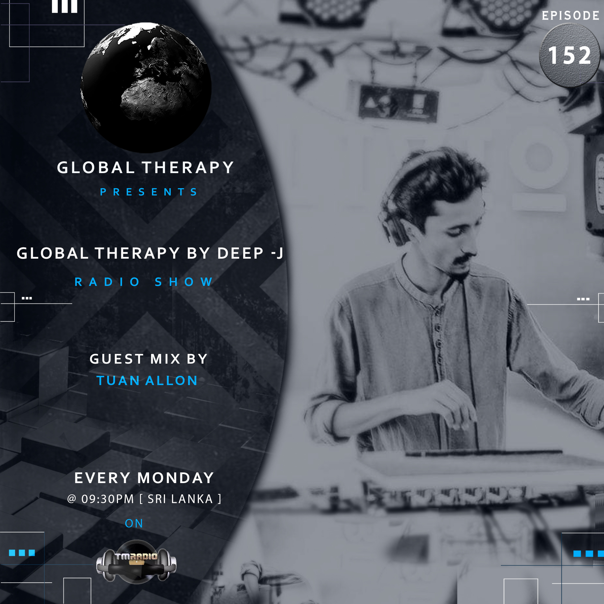 Global Therapy :: Global Therapy EP:152 + Guest Mix By TUAN ALLON (aired on September 2nd, 2019) banner logo