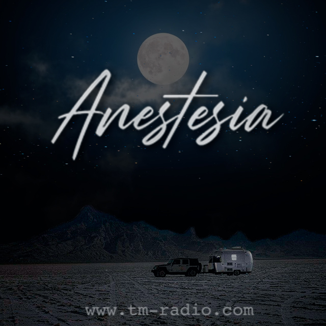 ANESTESIA :: Anestesia Radioshow - 010 - Guest: Gonza Ponce (aired on April 15th) banner logo