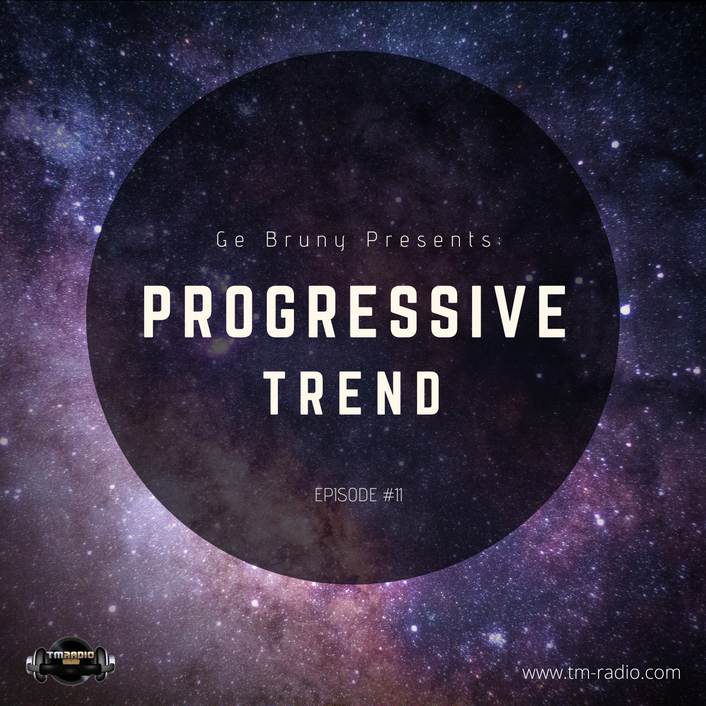 Ge Bruny presents: Progressive Trend :: Episode 011 (aired on February 1st, 2020) banner logo