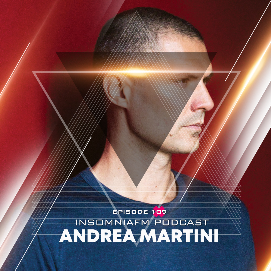 Insomniafm Podcast :: Episode 109 with Andrea Martini (aired on September 19th, 2018) banner logo