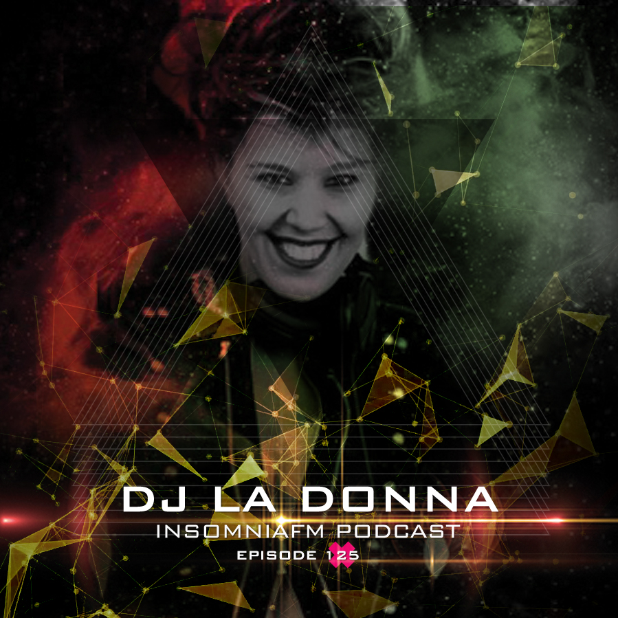 Insomniafm Podcast :: Episode 125 with Dj La Donna (aired on March 18th, 2020) banner logo