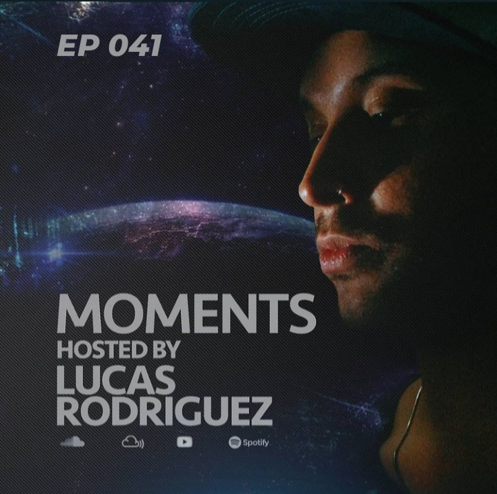 Moments :: Lucas Rodriguez - Moments #041 (May 2021) (aired on May 29th) banner logo