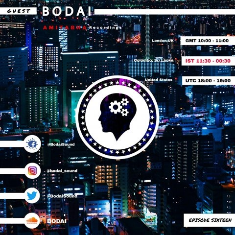 Minds Of Magic :: Guest mix by Bodai (aired on July 3rd, 2020) banner logo