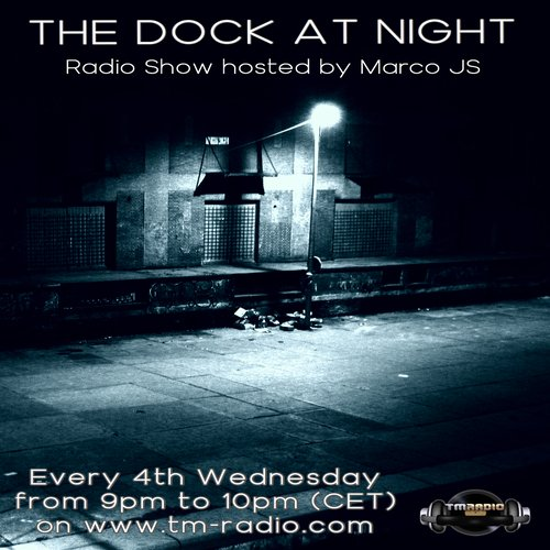 The Dock At Night banner logo