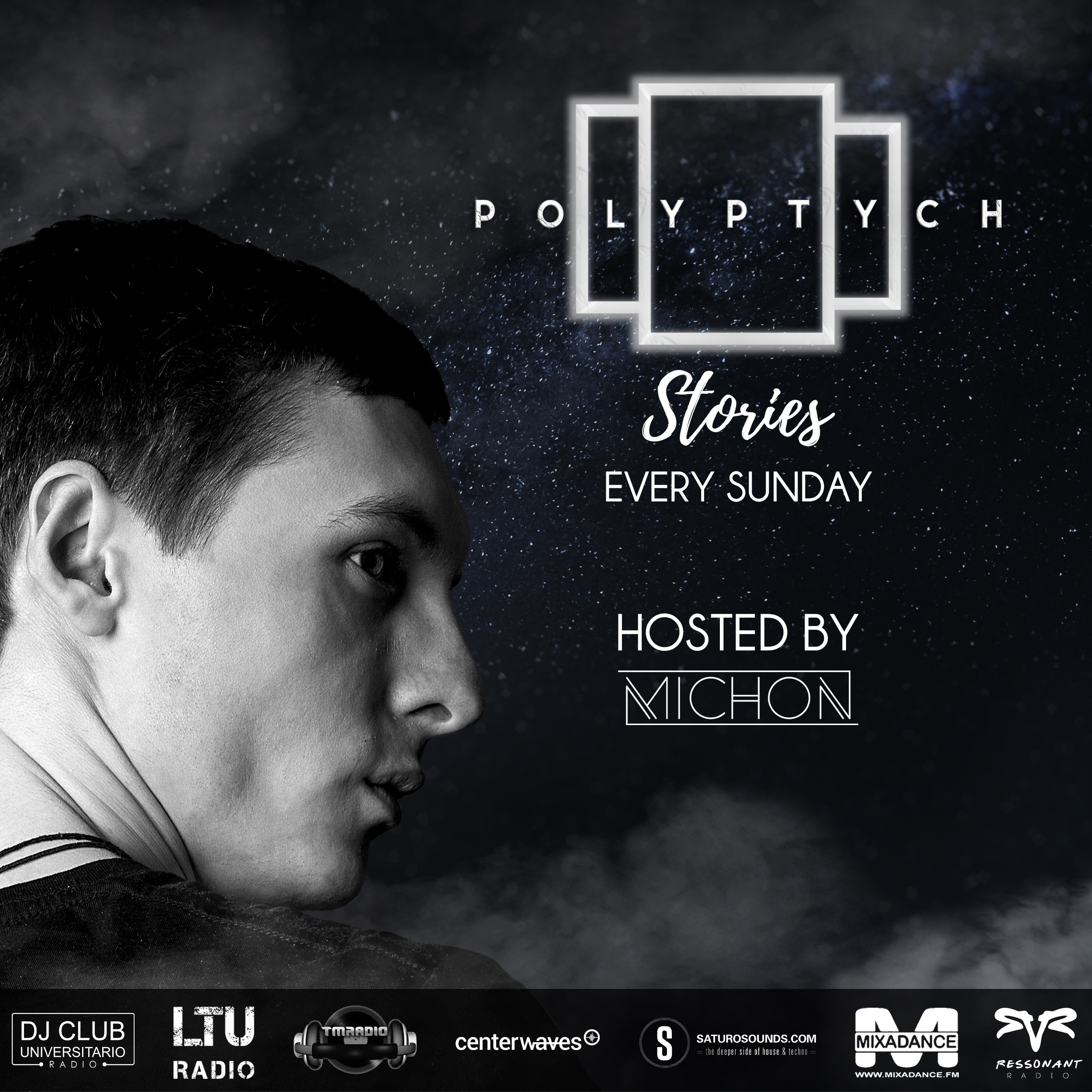Polyptych Stories :: Episode #029 (1st Hour - Michon, 2nd Hour - Stativ Connection) (aired on March 14th) banner logo