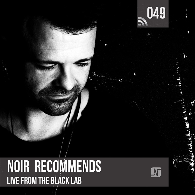 Noir Recommends :: Episode 049, live at The Black Lab (aired on January 23rd) banner logo