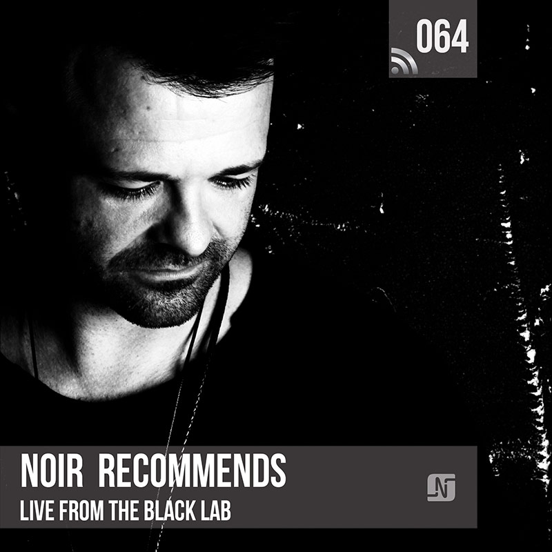 Noir Recommends :: Episode 064, live at The Black Lab (aired on May 8th, 2018) banner logo