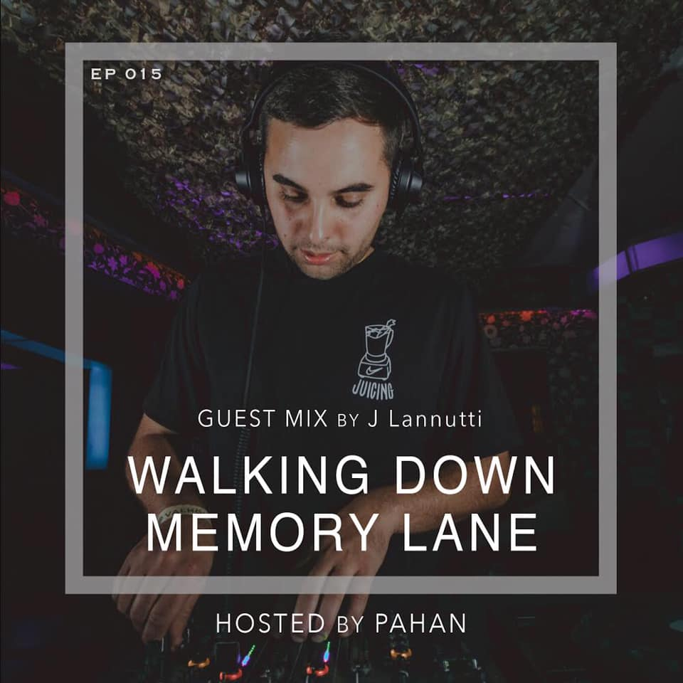 Walking Down Memory Lane :: Walking Down Memory Lane |15| Guest Mix by J Lannutti (aired on May 25th, 2020) banner logo