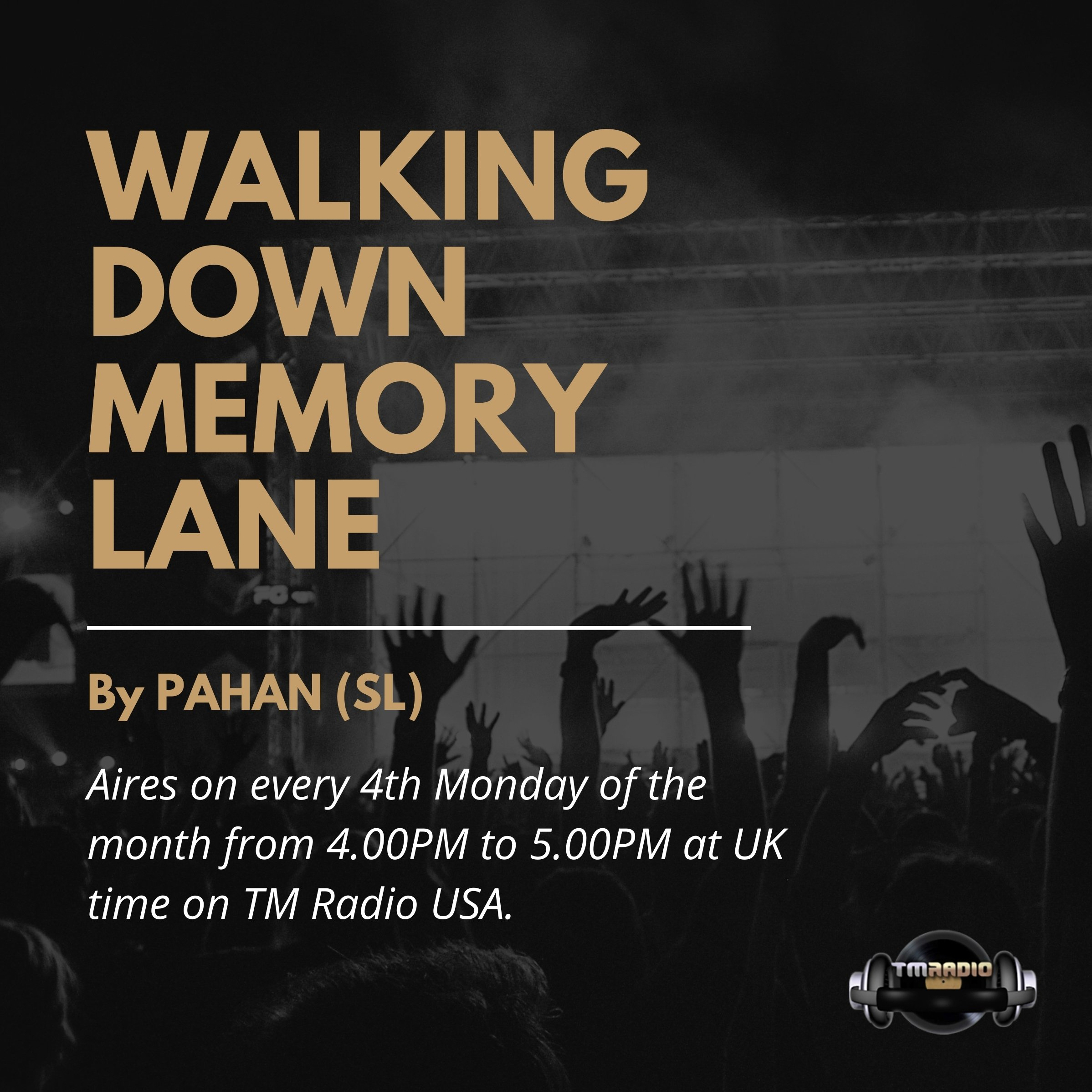 Walking Down Memory Lane :: Walking Down Memory Lane |013| Guest Mix by Emi Galvan (aired on March 23rd, 2020) banner logo
