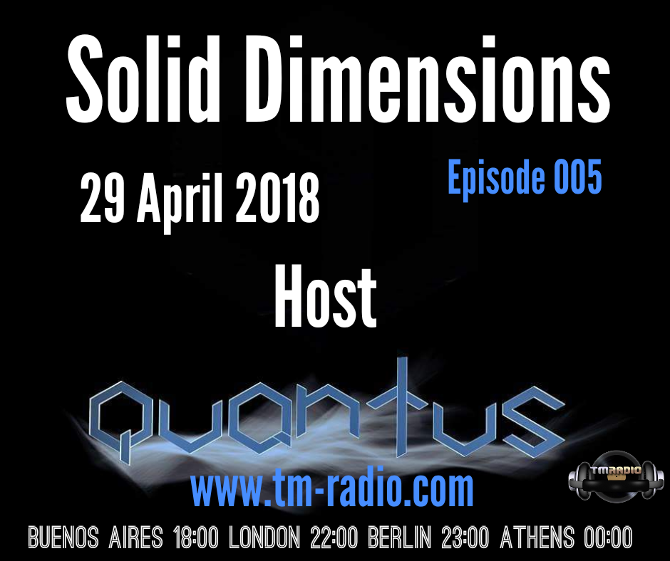 Solid Dimensions :: Episode 005 (aired on April 29th, 2018) banner logo