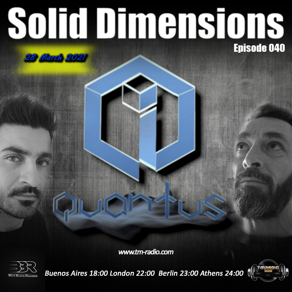 Solid Dimensions :: Solid Dimensions 040 on TM Radio -28-Mar-2021 (aired on March 28th) banner logo