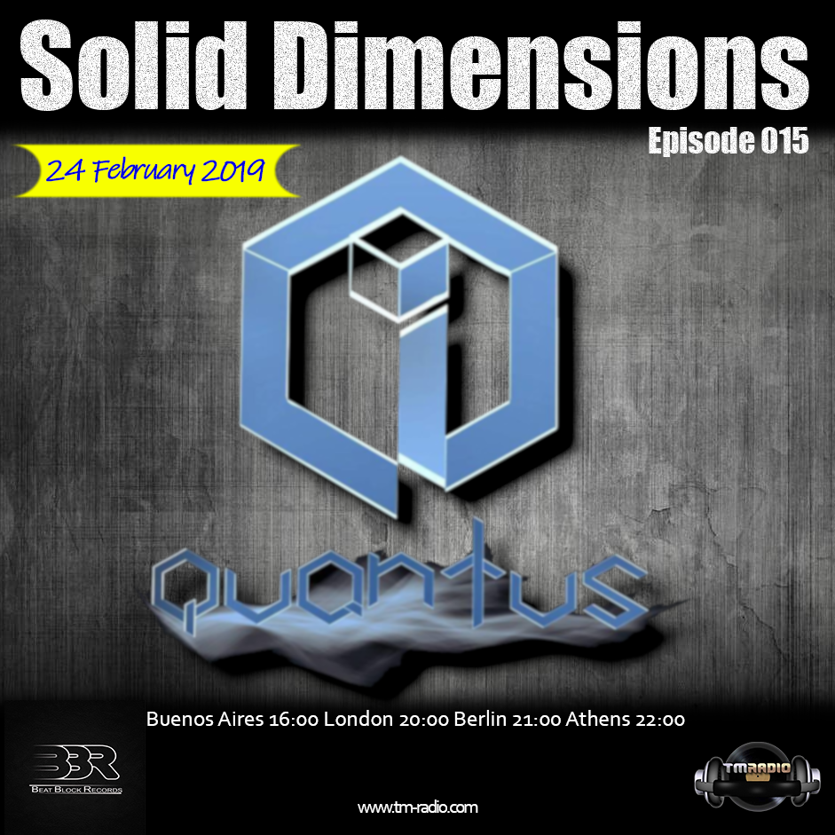 Solid Dimensions :: Solid Dimensions 015 on TM Radio - 24-February-2019 (aired on February 24th) banner logo
