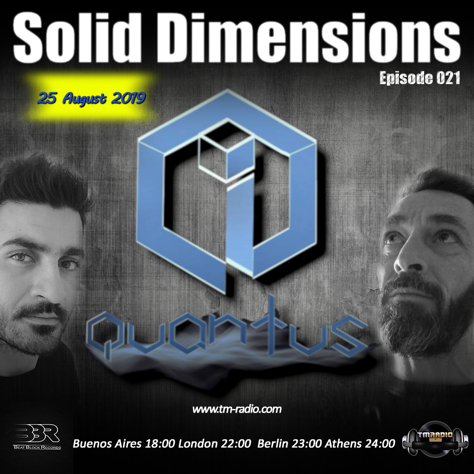 Solid Dimensions 021 on TM Radio - 25-August-2019 (from August 25th, 2019)