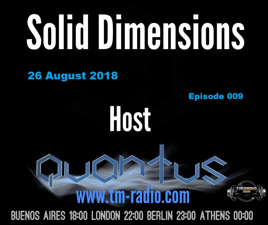 Solid Dimensions :: Episode 008 (aired on July 29th, 2018) banner logo