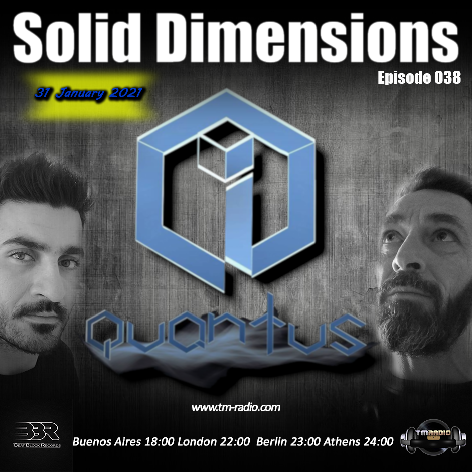 Solid Dimensions :: Solid Dimensions 038 on TM Radio -31-Jan-2021 (aired on January 31st) banner logo