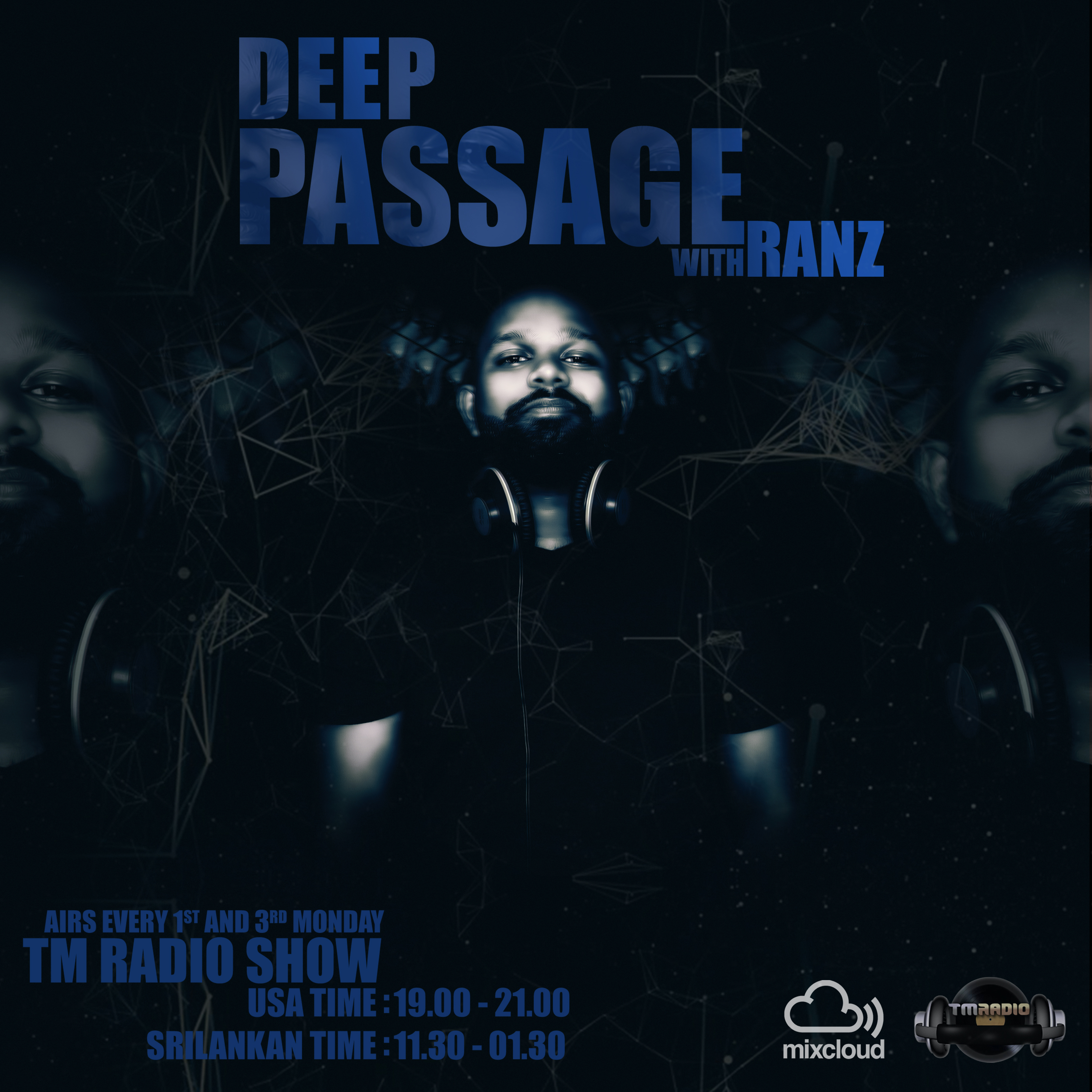 DEEP PASSAGE :: Grand Opening on TM Radio (aired on July 15th, 2019) banner logo