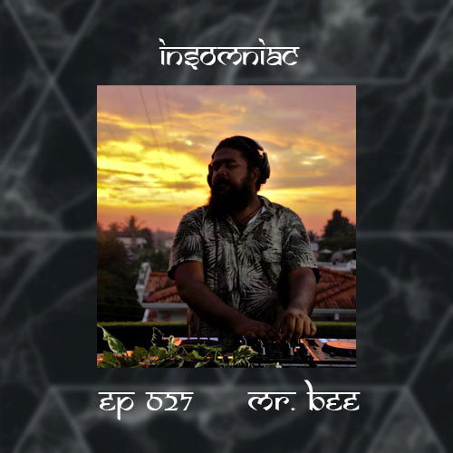 INSOMNIAC EP 027 : Guest Mix by BEE (SRI LANKA) (from June 12th)
