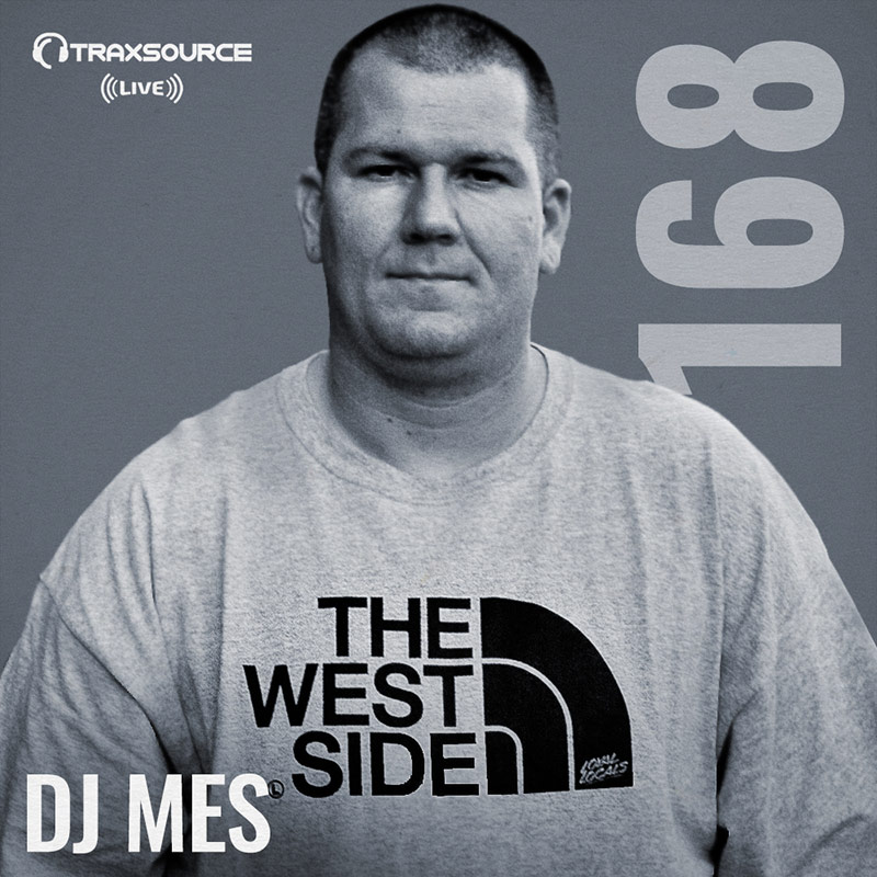 Traxsource Live :: Episode 168, hosted by DJ Mes (aired on April 22nd) banner logo