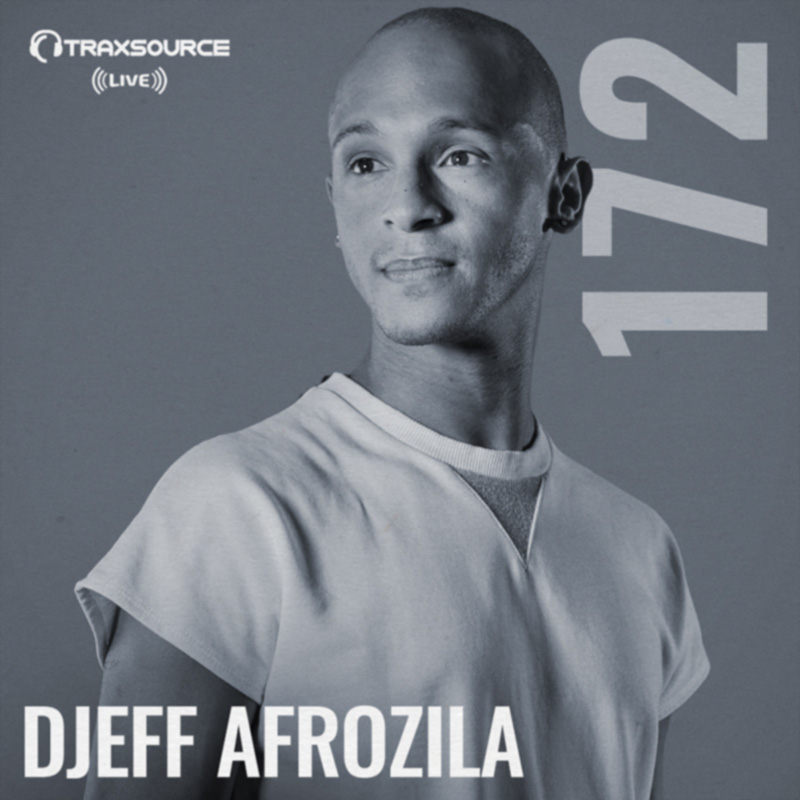 Traxsource Live :: Episode 172, hosted by DJeff Afrozila (aired on May 20th, 2018) banner logo