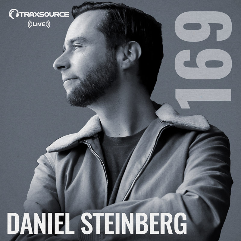 Traxsource Live :: Episode 169, hosted by Daniel Steinberg (aired on April 29th) banner logo