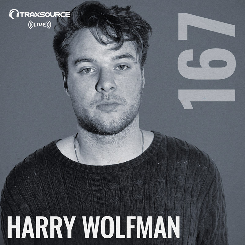 Traxsource Live :: Episode 167, hosted by Harry Wolfman (aired on April 15th, 2018) banner logo