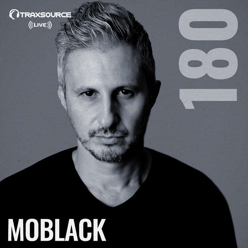 Traxsource Live :: Episode 180, hosted by MoBlack (aired on July 15th) banner logo