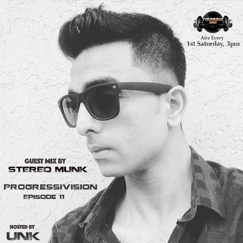 Progressivision :: Progressivision Episode 11 Guest Mix by Stereo Munk (aired on March 7th, 2020) banner logo
