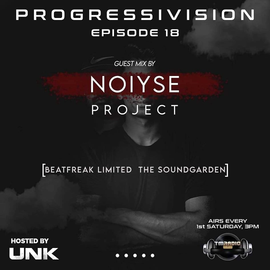 Progressivision :: Progressivision Episode 18 Guest Mix by Noiyse Project on TM Radio (aired on October 3rd, 2020) banner logo